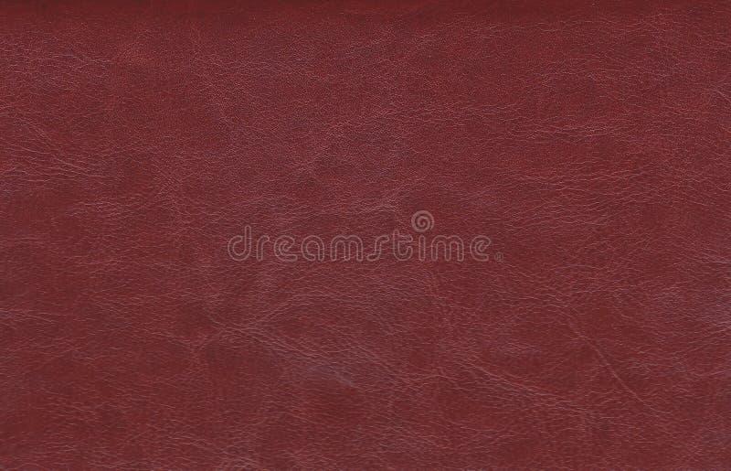 Textura y fondo de cuero Rojo abstracto del fondo ilustración del vector