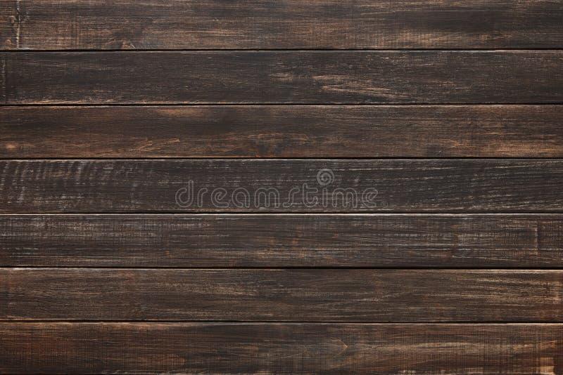 Textura y fondo de madera pintados naturales de Brown foto de archivo libre de regalías