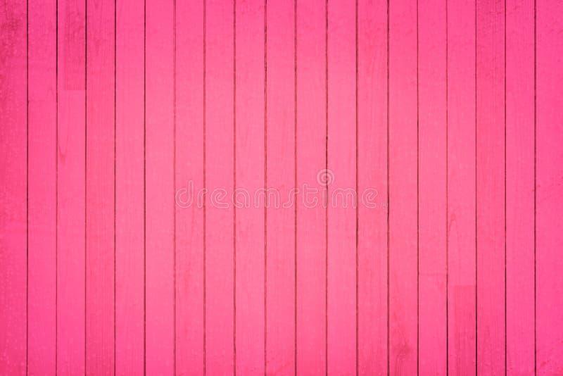 Textura y fondo de madera rosados de la pared imagen de archivo libre de regalías