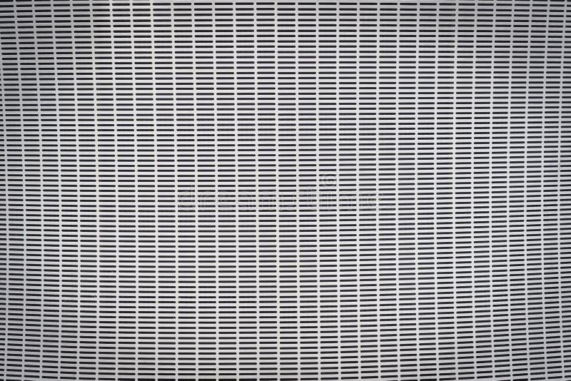 Textura y fondo grises de la rejilla del metal libre illustration