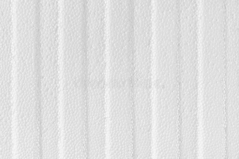 Textura y fondo macros plásticos pelados de la espuma fotografía de archivo libre de regalías