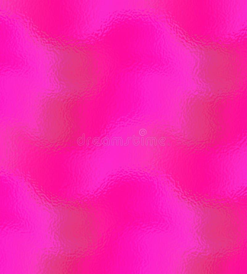 Textura y fondo rosados del vidrio esmerilado para el uso como un sitio web o elemento del diseño ilustración del vector