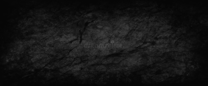 Textura y grunge negro del fondo, papel gris apenado viejo de carbón de leña con la pintura veteada y áspero sucio agrietado stock de ilustración