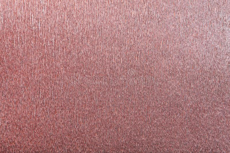 Textural of red background of wavy corrugated paper, closeup stock photos