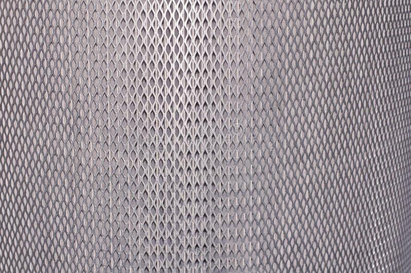 Textural tło nowa kruszcowa srebna siatka zdjęcia stock