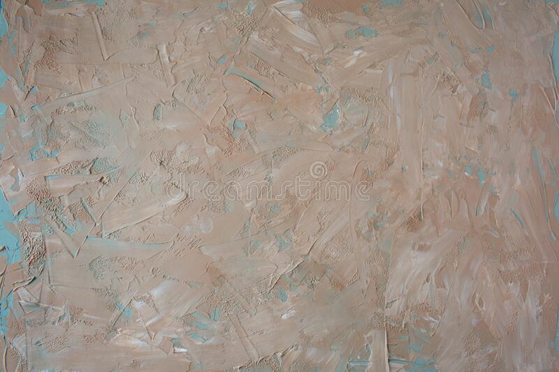 Textural warm, brown, background made of black and white paint royalty free stock images