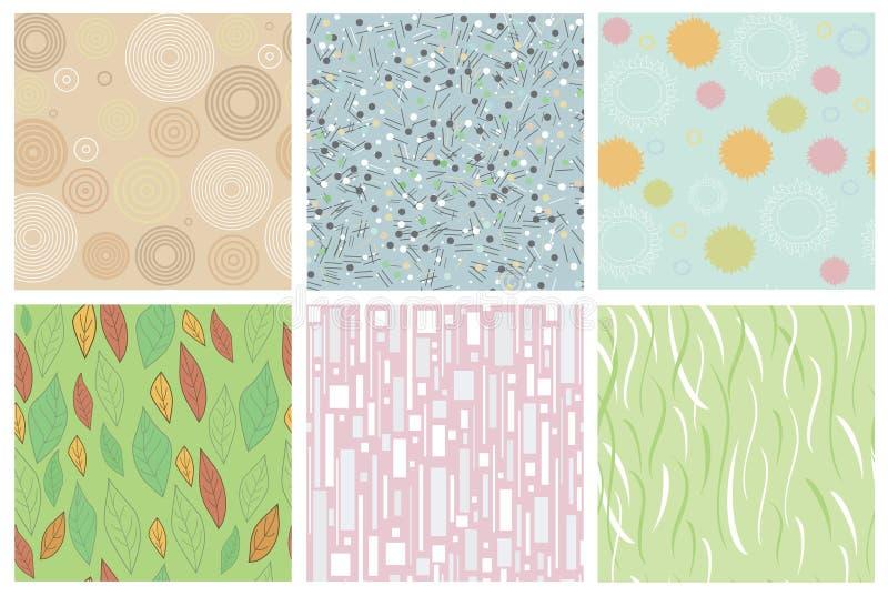 texturas abstractas inconsútiles libre illustration