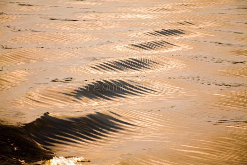 Texturas abstratas da água imagens de stock