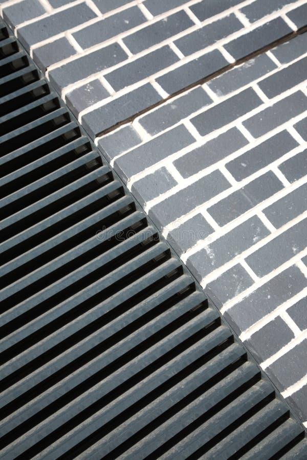 Texturas arquitectónicas diferentes fotografia de stock