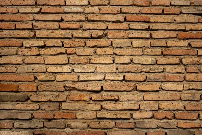 Texturas da parede de tijolo no dia fotografia de stock