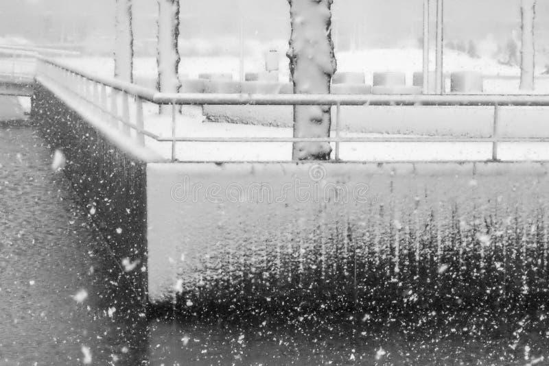 Texturas da perspectiva e da neve imagens de stock royalty free
