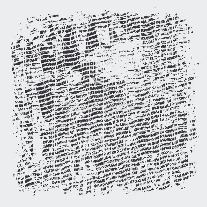 Texturas da reticulação de Grunge ilustração royalty free