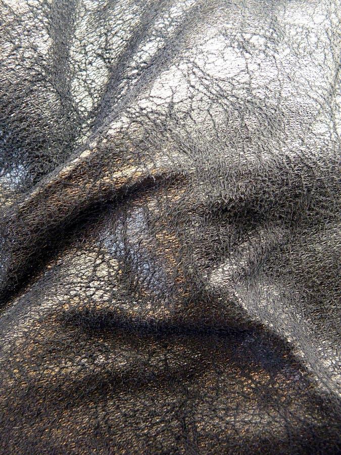 Texturas de couro pretas fotos de stock