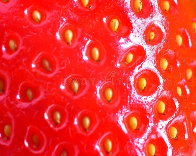 Texturas de fresas rojas imagenes de archivo