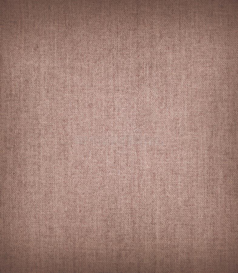 Texturas de la tela de Brown fotografía de archivo libre de regalías