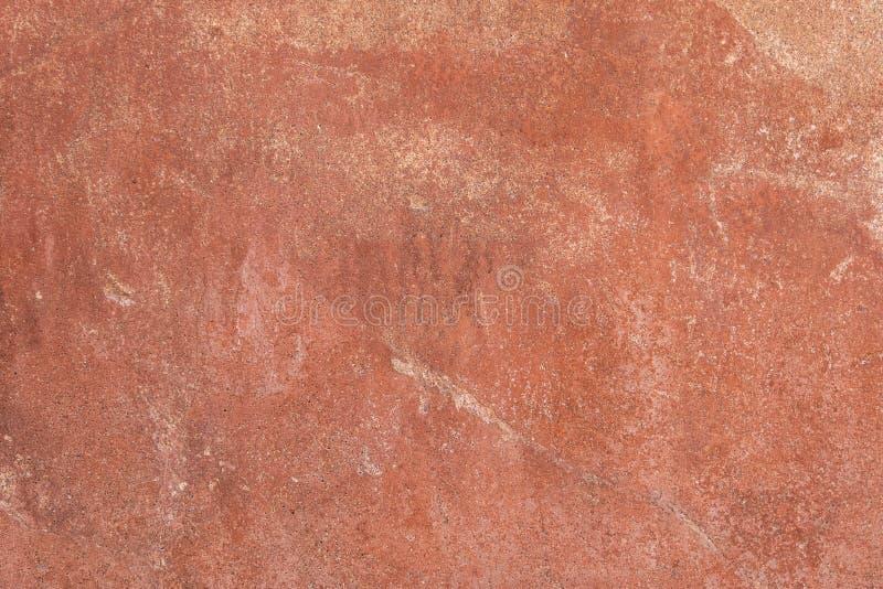 Texturas de las paredes del color de las ruinas antiguas de Pompeya imagen de archivo