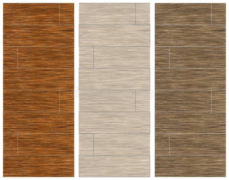 Texturas de madeira imagens de stock