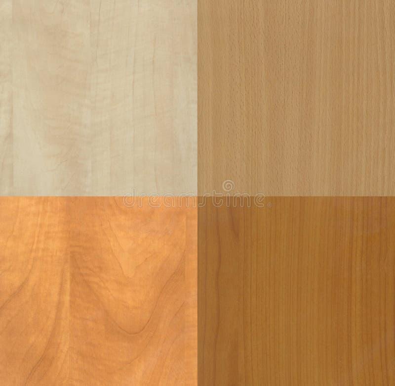 Texturas de madera ligeras modernas fotos de archivo
