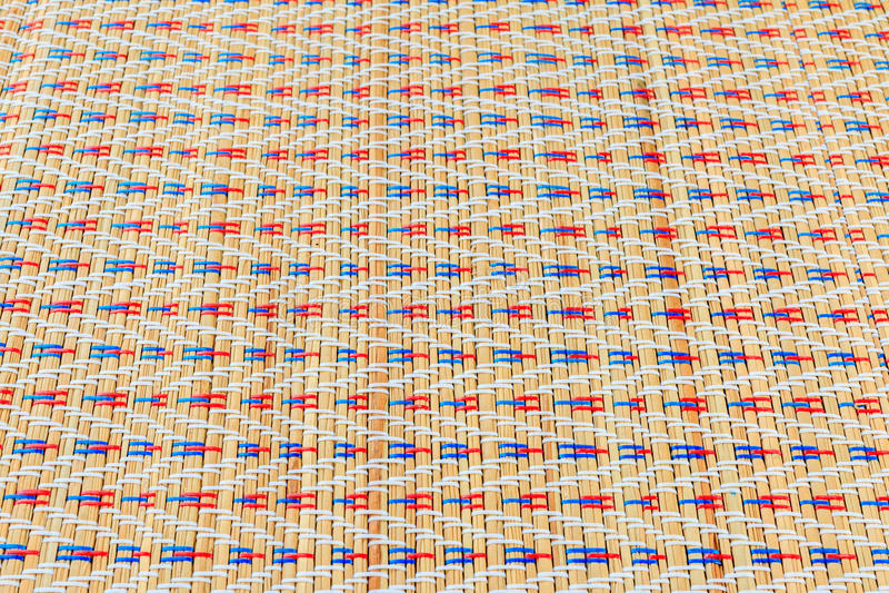 Texturas de mimbre multicoloras asiáticas del modelo imagenes de archivo