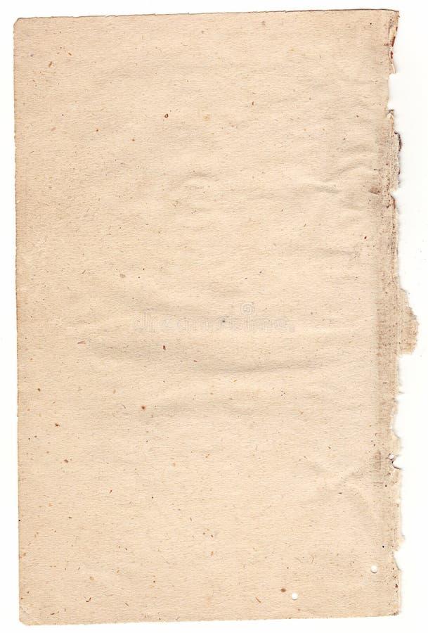 Texturas de papel velhas imagens de stock