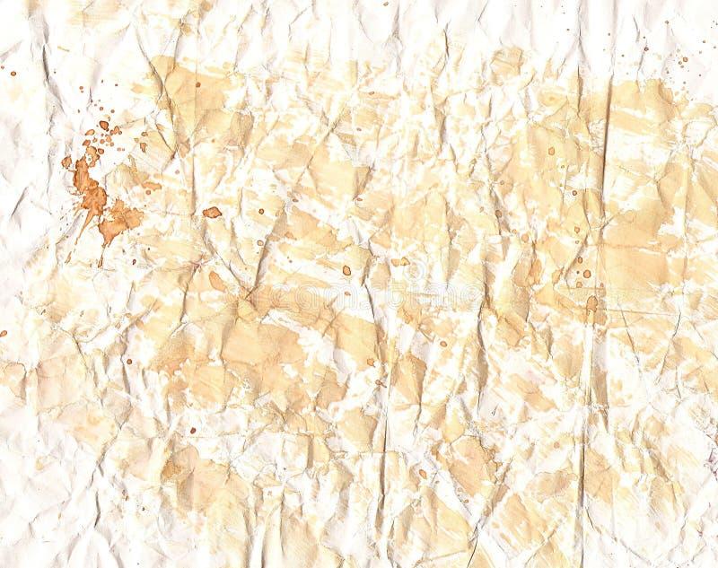 Texturas de papel velhas fotos de stock royalty free