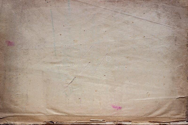 Texturas de papel velhas, fundo com espaço imagens de stock royalty free