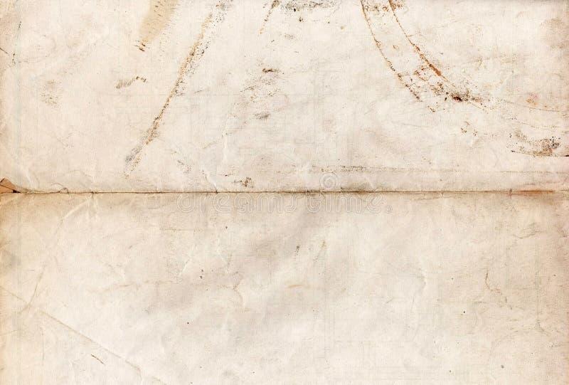 Texturas de papel velhas - fundo perfeito com espaço imagens de stock