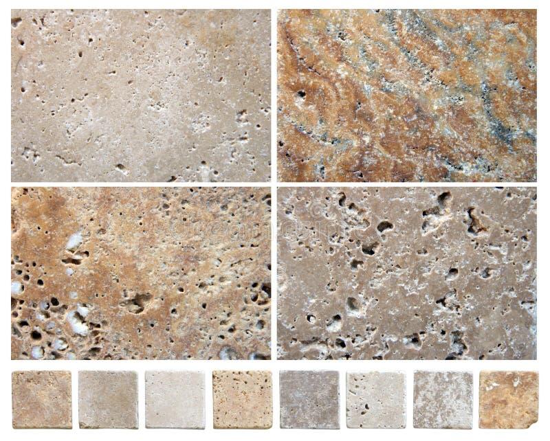 Texturas de pedra naturais foto de stock royalty free