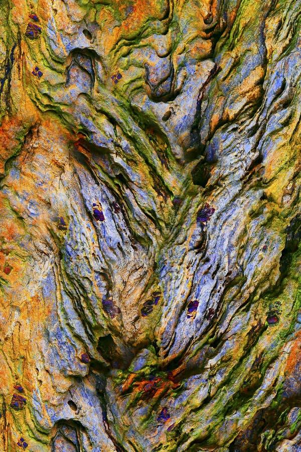Texturas de piedra abstractas foto de archivo
