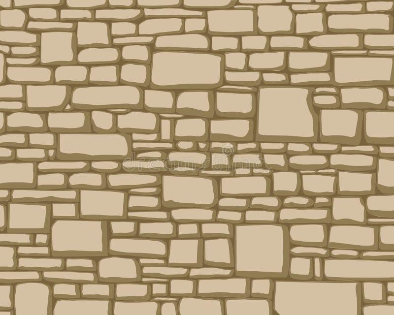 Texturas de piedras ilustración del vector