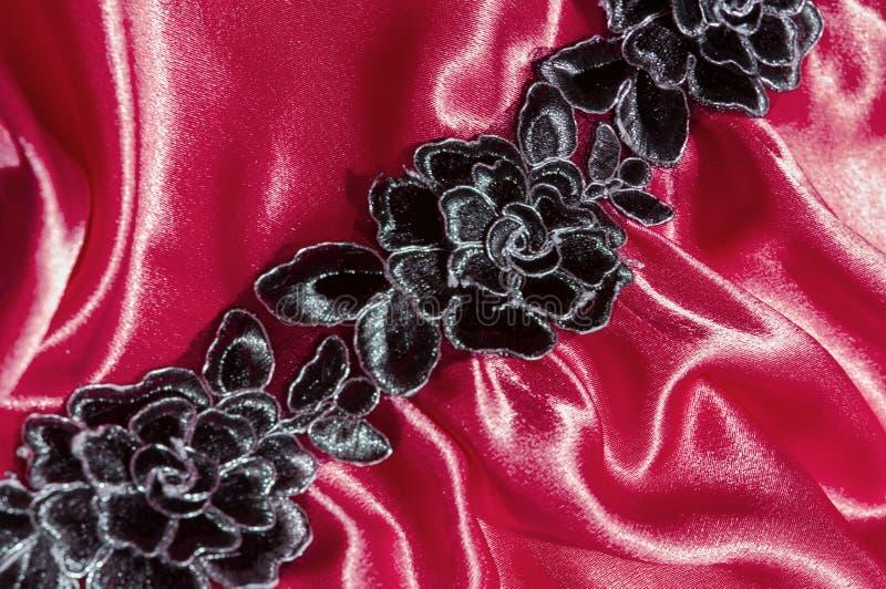 texturas de seda del material o del luxuriou del terciopelo del satén fotos de archivo