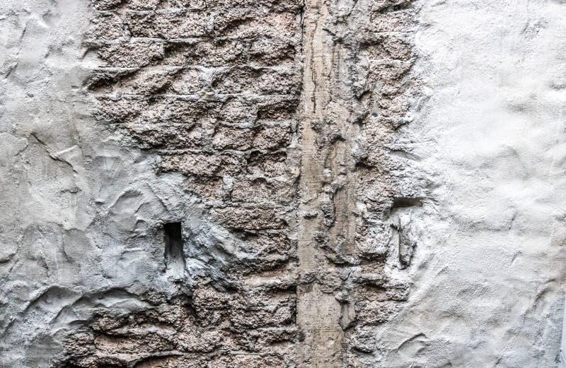 Texturas de um muro de cimento fotografia de stock royalty free