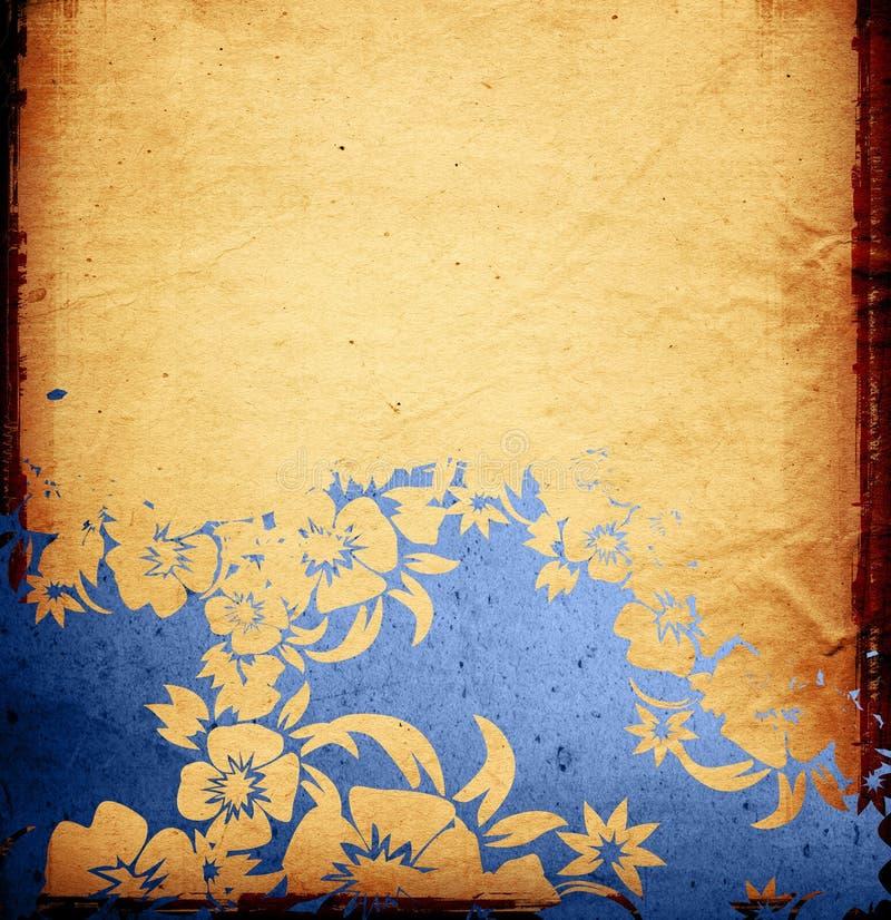 Texturas do estilo de Ásia ilustração royalty free