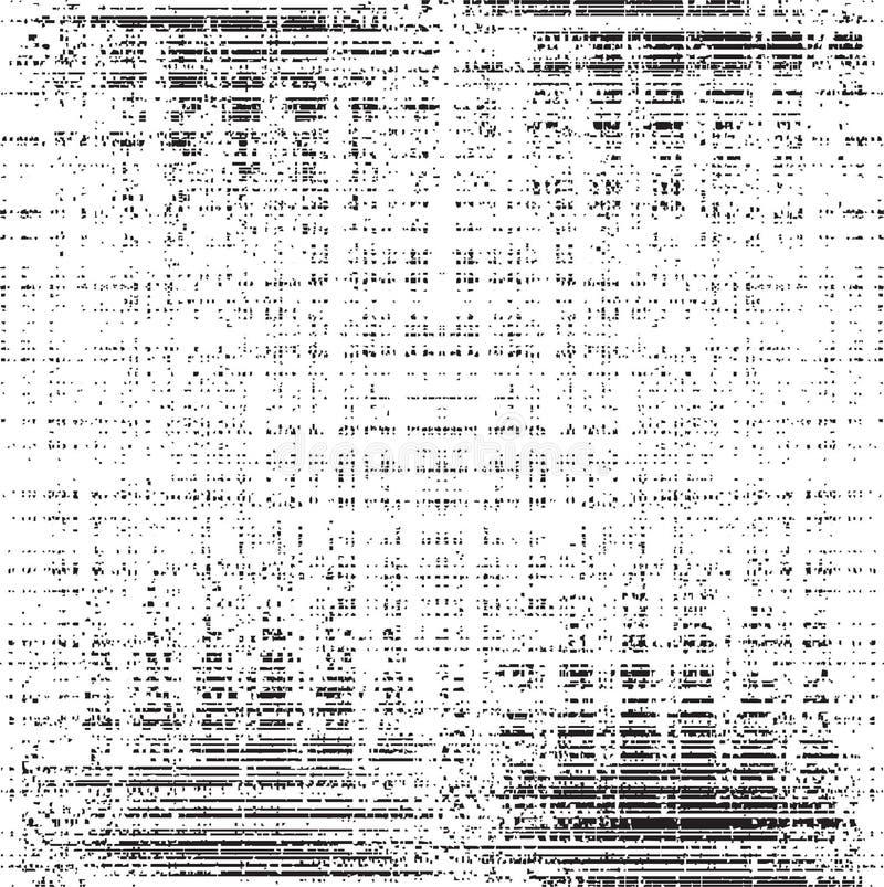 Texturas do grunge do vetor ilustração stock
