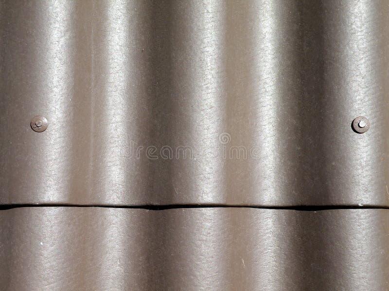 Texturas do telhado de Brown imagens de stock