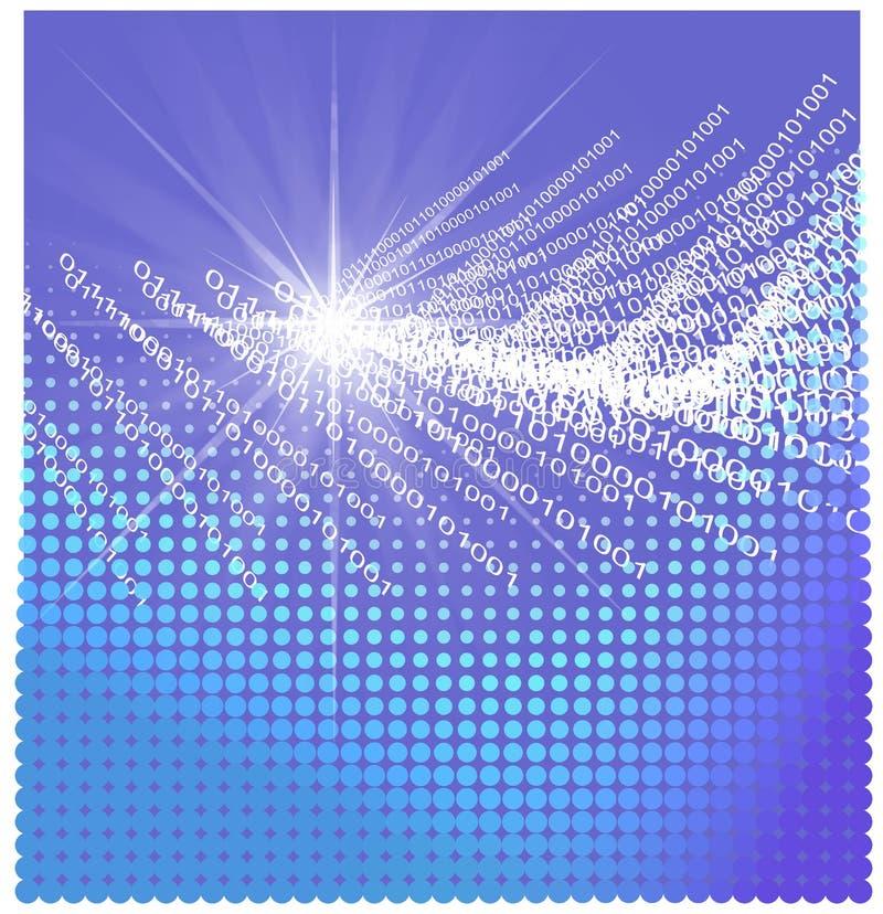 Texturas e formas do negócio do Internet ilustração do vetor