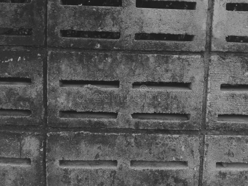 Texturas e testes padrões das paredes fotografia de stock