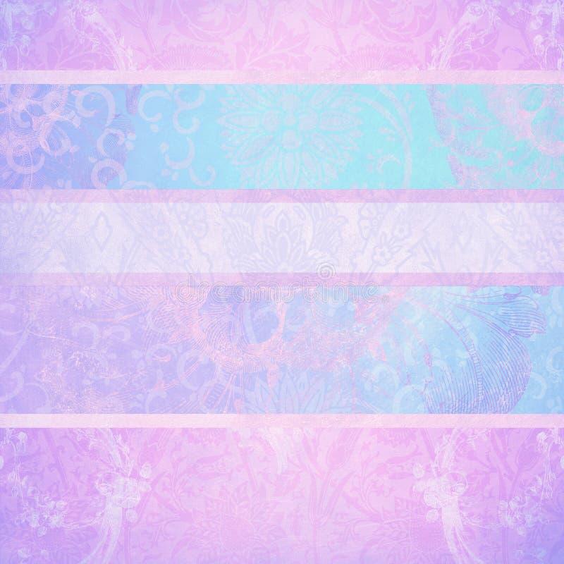 Texturas en colores pastel ilustración del vector
