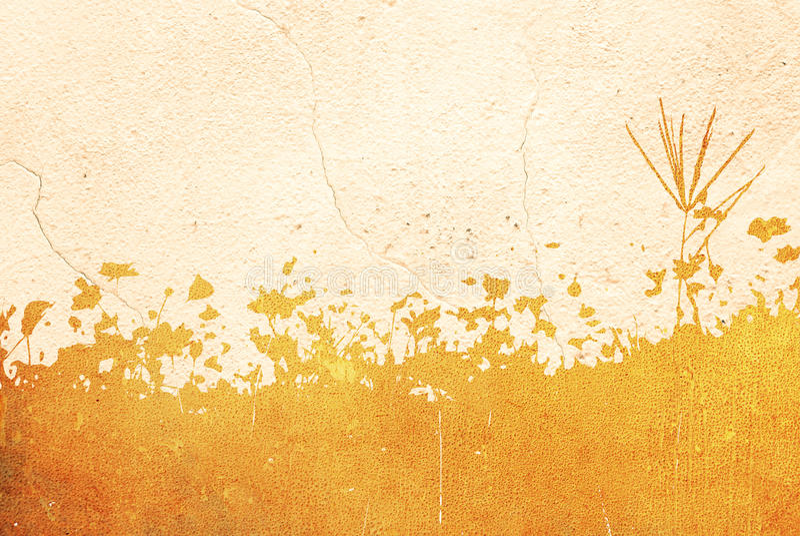 Texturas florales del estilo aisladas en blanco ilustración del vector