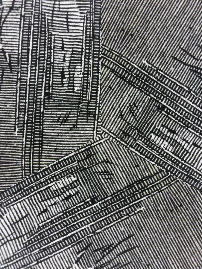 Texturas pretas frescas da tinta de Grunge foto de stock royalty free
