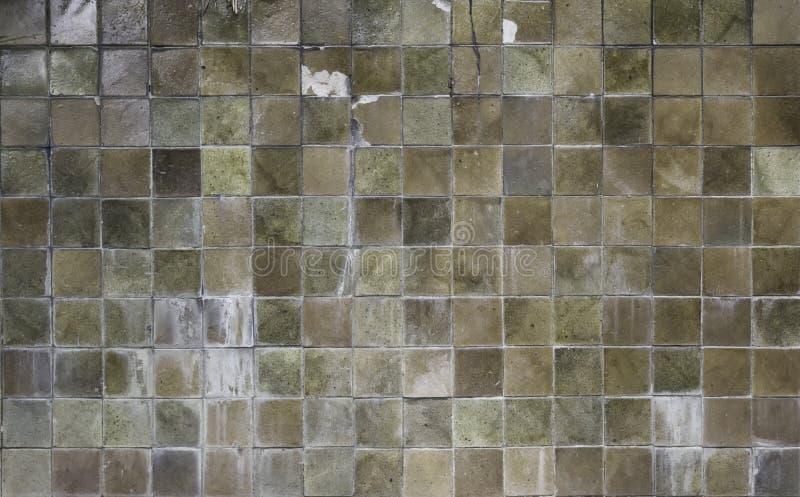 Texturas quadradas da parede do cimento fotografia de stock