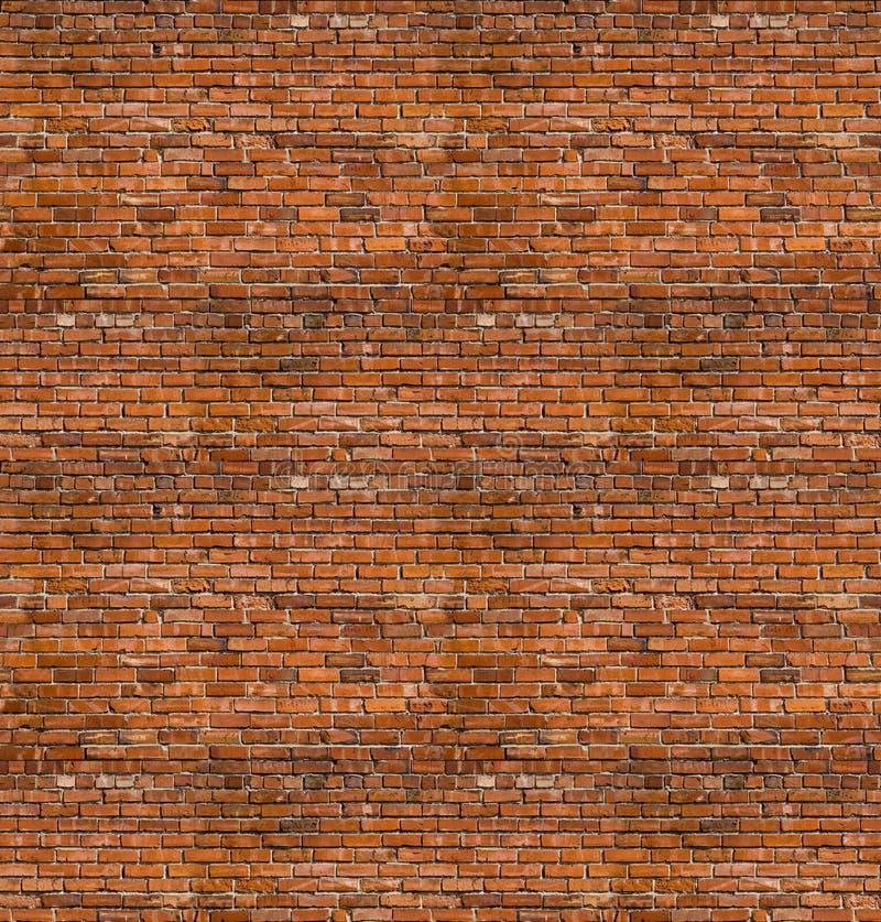 Texturas sem emenda do tijolo imagem de stock