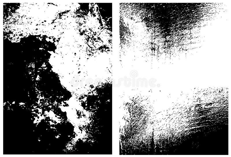 Texturas sucias stock de ilustración