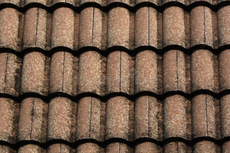 Texturas velhas do telhado imagem de stock royalty free