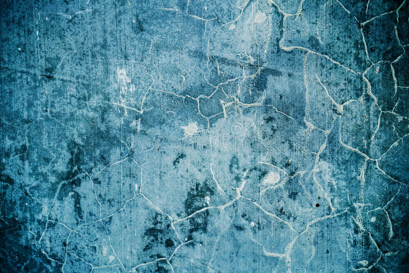 Texturas y fondos concretos agrietados del grunge foto de archivo