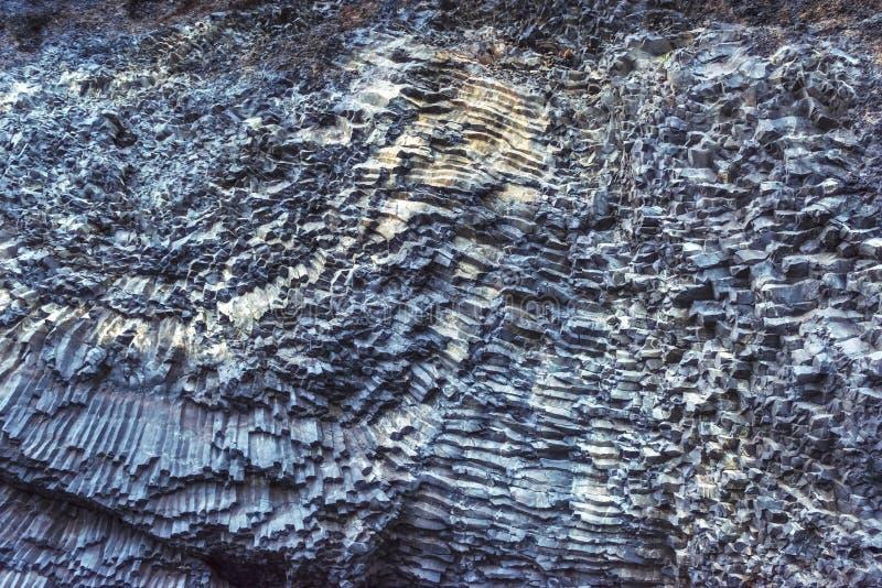 TexturbergReynisfyal udde Dyrholaey Island Carpathian Ukraina, Europa arkivfoton