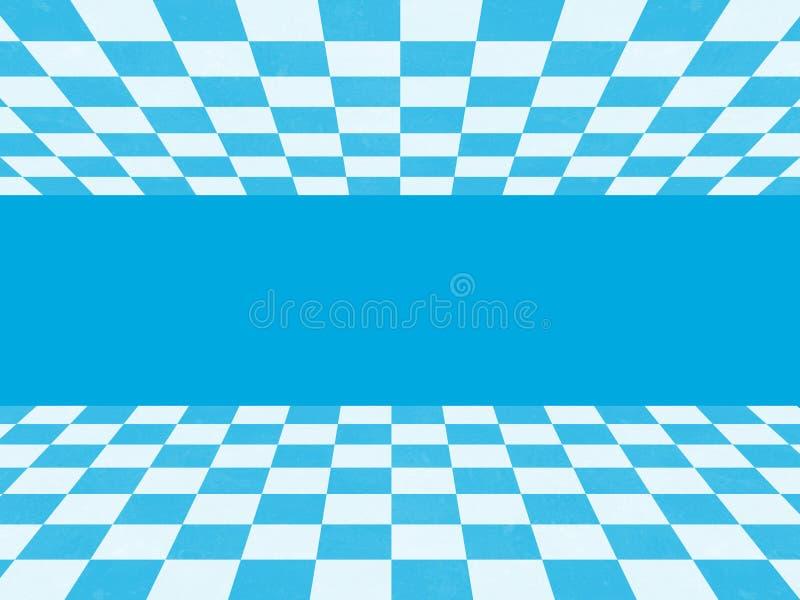 Texture à carreaux bleue illustration de vecteur