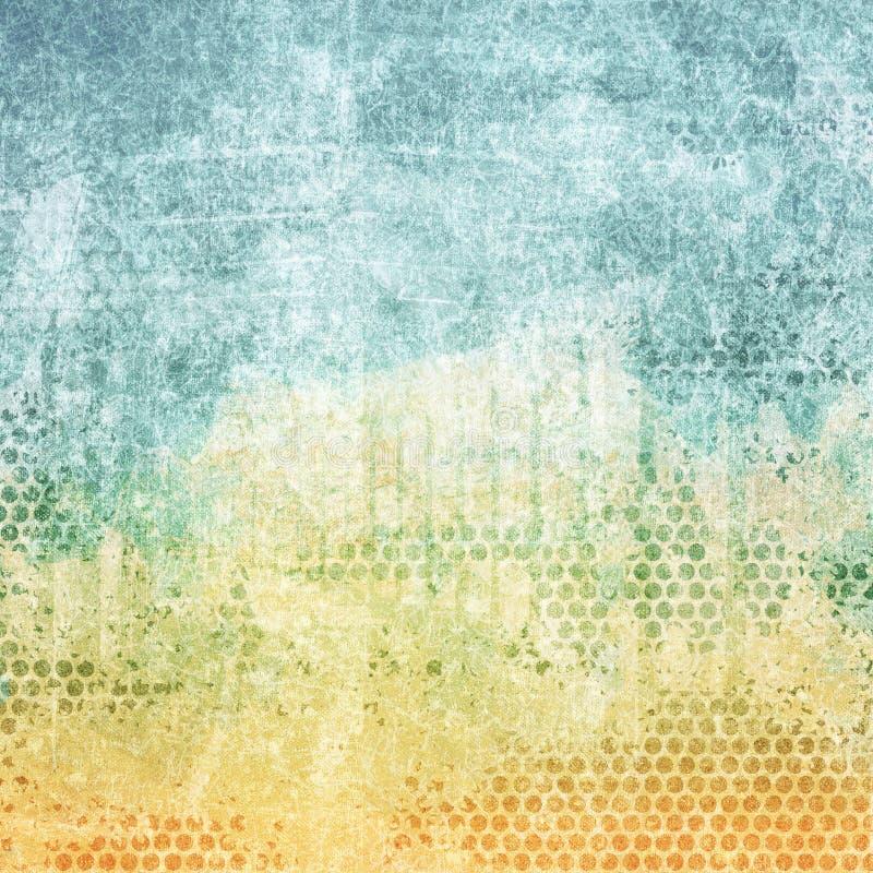Texture âgée de couleur de papier image libre de droits