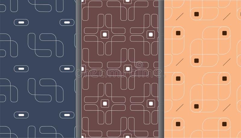Texture élégante moderne de modèle sans couture de vecteur illustration libre de droits