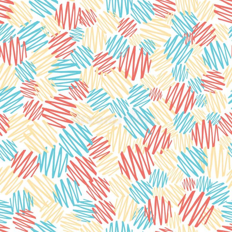 Texture élégante tirée par la main de point de polka illustration de vecteur